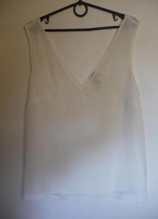 Майка блуза шифоновая