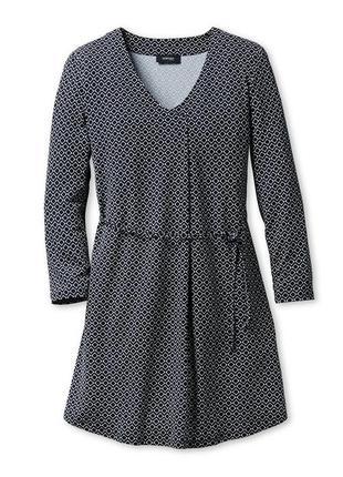 Платье-туника с модным графическим принтом от бренда tchibo, германия