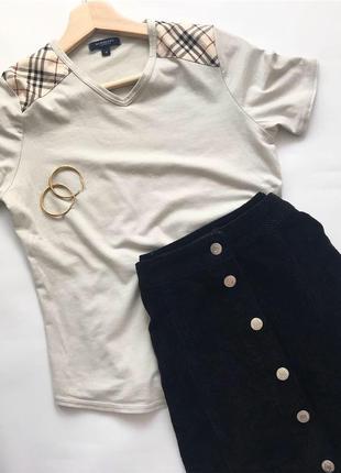 Стильная вельветовая юбка new look