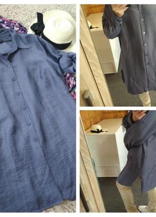 Актуальное стильное платье рубашка туника, best connection, p. 16-20