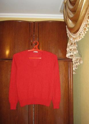 Пуловер marks&spencer, 100% натуральный кашемир, размер m/l