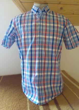 Мужские рубашка клетку l