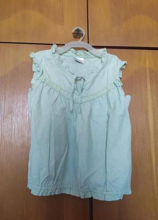 Блуза лен 100% next 13 лет 158 см