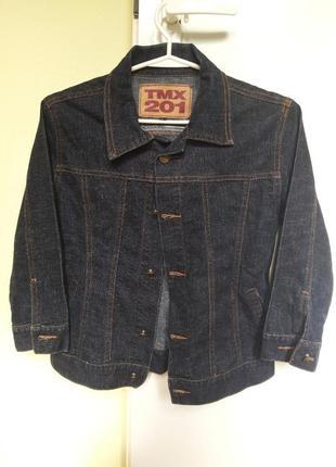Легка джинсова куртка💓 жакет піджак