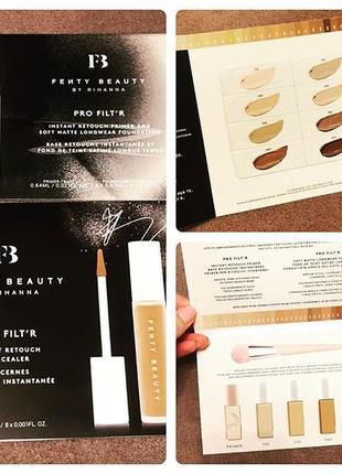 Набор fenty beauty палетка тональных и консиллеров
