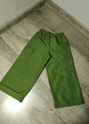 Стильные штанишки на резинке