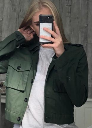 Ветровка, кроп жакет, пиджак h&m