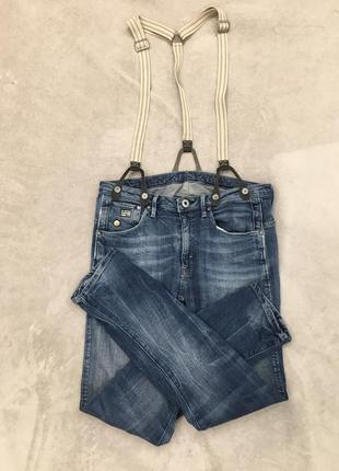 Крутые джинсы с подтяжками, бойфренд, оригинал