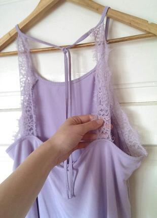 Стильна майка/блуза/топ з мереживом від new look, на р. l/xl