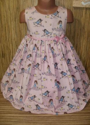 Нарядное платье на 5-6 лет