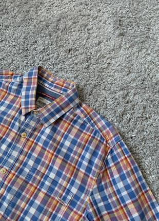 Рубашка в разноцветную клеточку от jack & jones