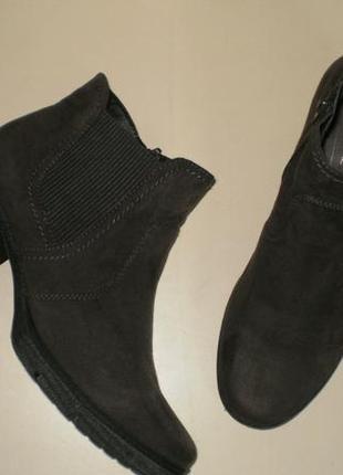 Ботинки челси под замшу soft line (софт лайн)