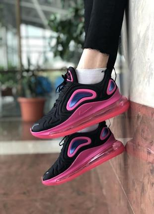 Шикарные женские кроссовки nike air max 720 white pink6 фото