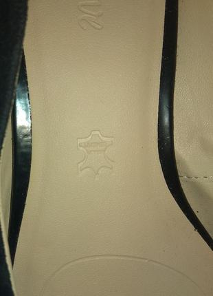 Стильные замшевые туфли footglove р 383 фото