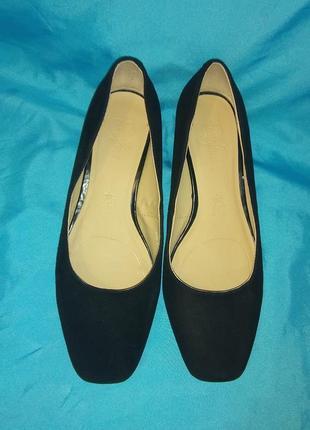 Стильные замшевые туфли footglove р 384 фото
