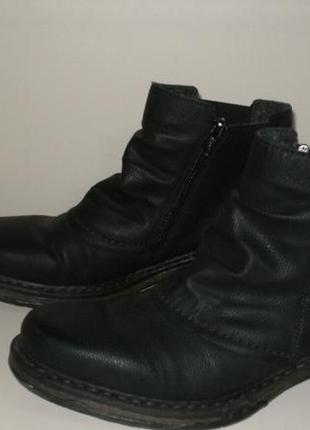 Демисезонные ботинки челси rieker (рикер) 39р2 фото