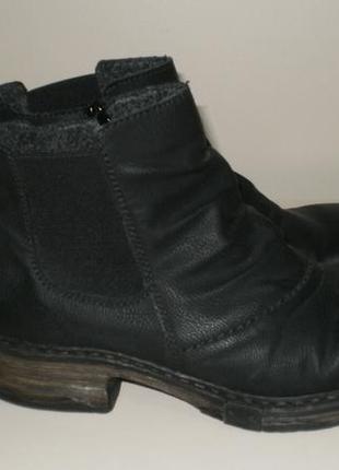Демисезонные ботинки челси rieker (рикер) 39р3 фото