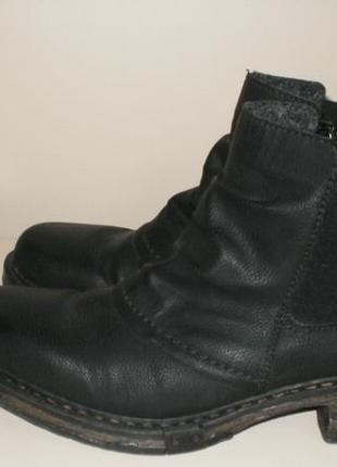 Демисезонные ботинки челси rieker (рикер) 39р8 фото