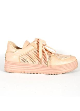 755d2ead Женские кроссовки нюдовы, кроссовки на платформе, персиковые кроссовки  летние
