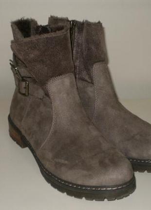 Зимние ботинки s.oliver (с.оливер) 39р.
