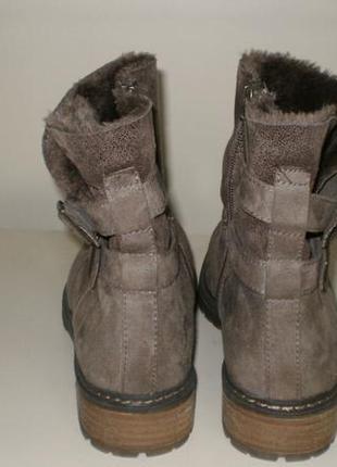 Зимние ботинки s.oliver (с.оливер) 39р.4 фото