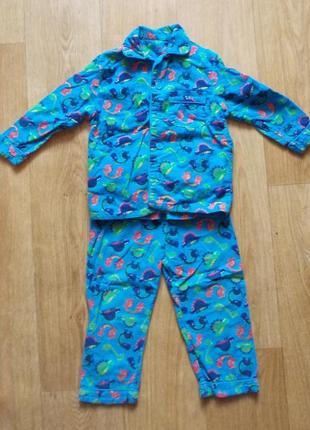 Пижама 2-3 года, 98 см, rebel, хлопок