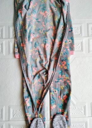 Флисовая пижама кигуруми комбинезон carter's4 фото