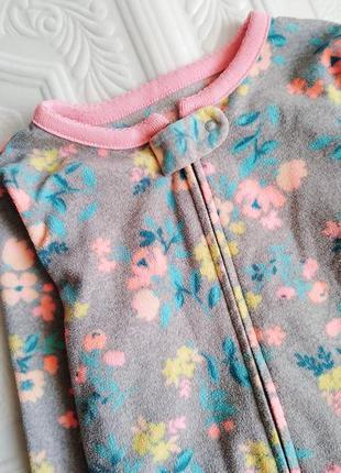 Флисовая пижама кигуруми комбинезон carter's2 фото
