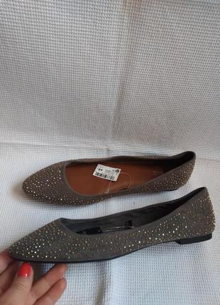 Next оригинальные новые туфли балетки 39