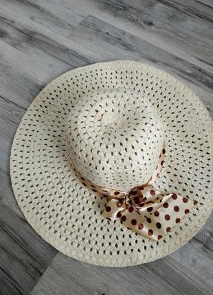Супер цена 🙊трендовая пляжная шляпа с широкими полями, широкополая шляпа