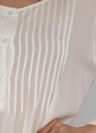 Пляжное платье короткое белое коттон5 фото