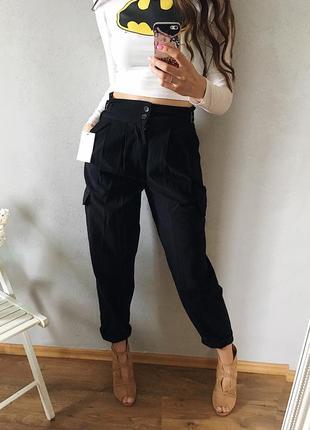 240bf4f044c Актуальные брюки карго с карманами на талию