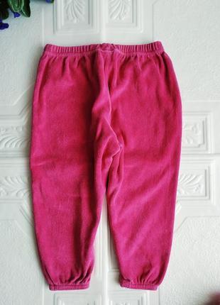 Спортивные велюровые брюки early days4 фото