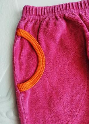 Спортивные велюровые брюки early days3 фото