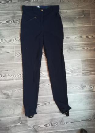 Стрейчевые штаны на конного вида спорта( длина 104 см ) + хлястик резинка