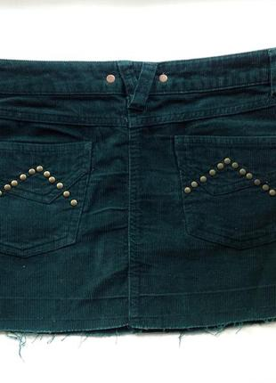 Вельветовая мини-юбка stradivarius