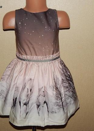 Шикарное платье 4 года