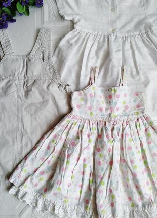 Набор платьев и сарафанов 3 шт.5 фото