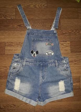 Модный джинсовый комбинезон 🛍