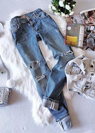 Мега стильные джинсы в рваностях colin's.