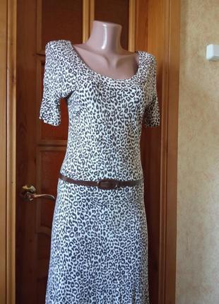 Летнее платье,легкое платье,трикотажное платье,платье,42-44р,bay.