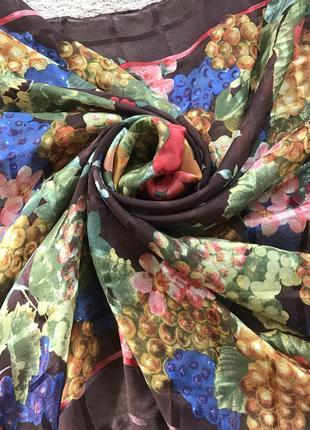 Фирменный шелковый платок frey como оригинал