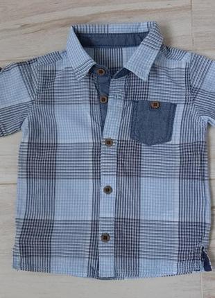 Рубашка 9-12м george