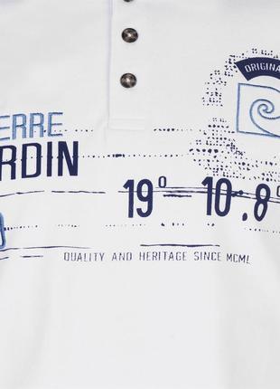 Pierre cardin мужская футболка/мужское поло/футболка-поло3 фото