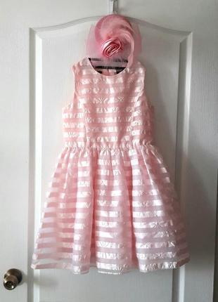 Нежное платье на 8 лет