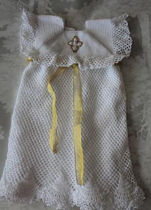 Платье для крещения/ крестильное
