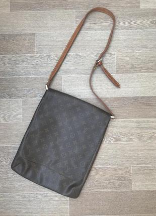 Кожаная сумка louis vuitton оригинал paris