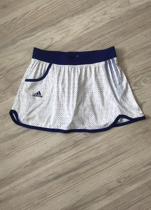 Теннисная юбка adidas1 фото