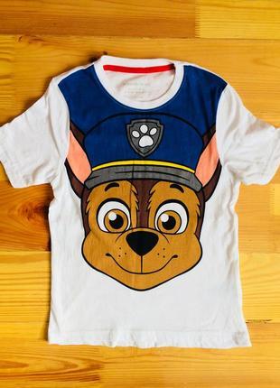Хлопковая футболка nickelodeon на рост 110-116 см. германия