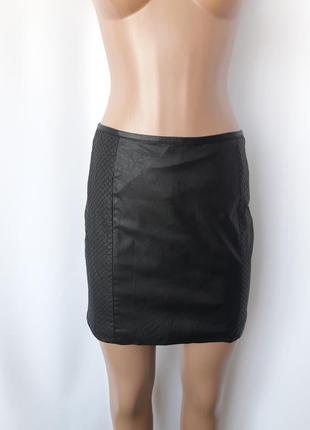 2dd11b0dc91 Шикарная юбка из кожзама